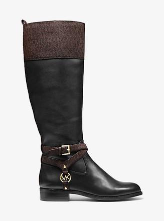 Item: Preston Two-Tone Leather Boot