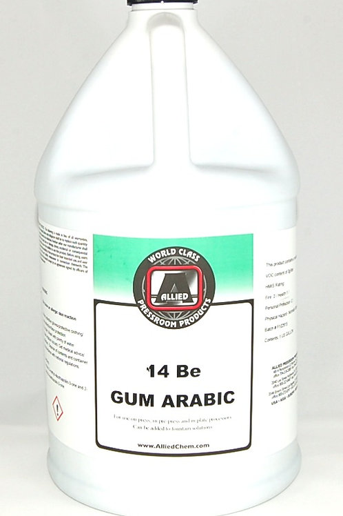 14 Degree Be Gum Arabic (Pkg 1 Gal)