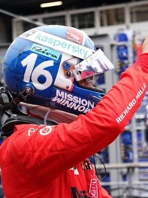 F1 Race in Monte Carlo 2021