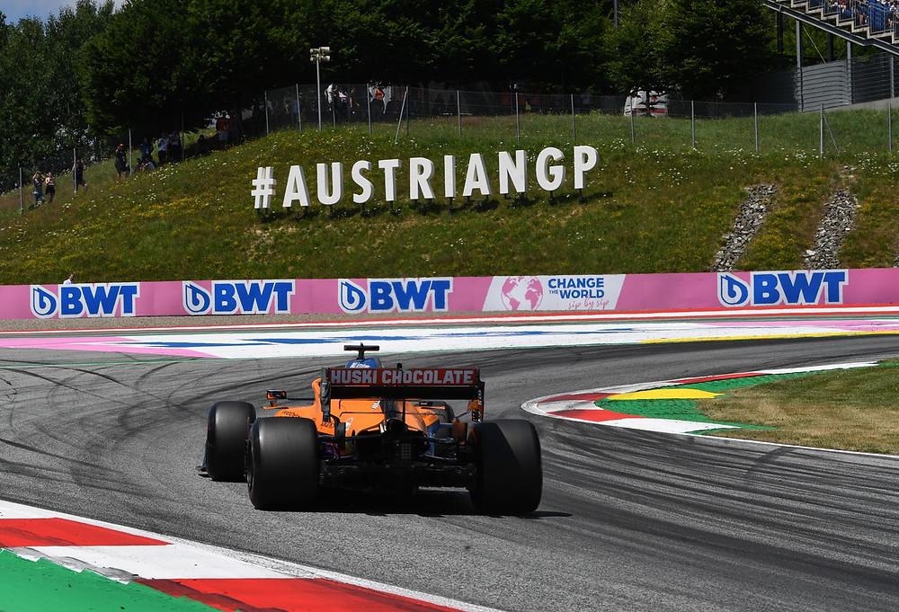 McLaren Racing - Austrian GP