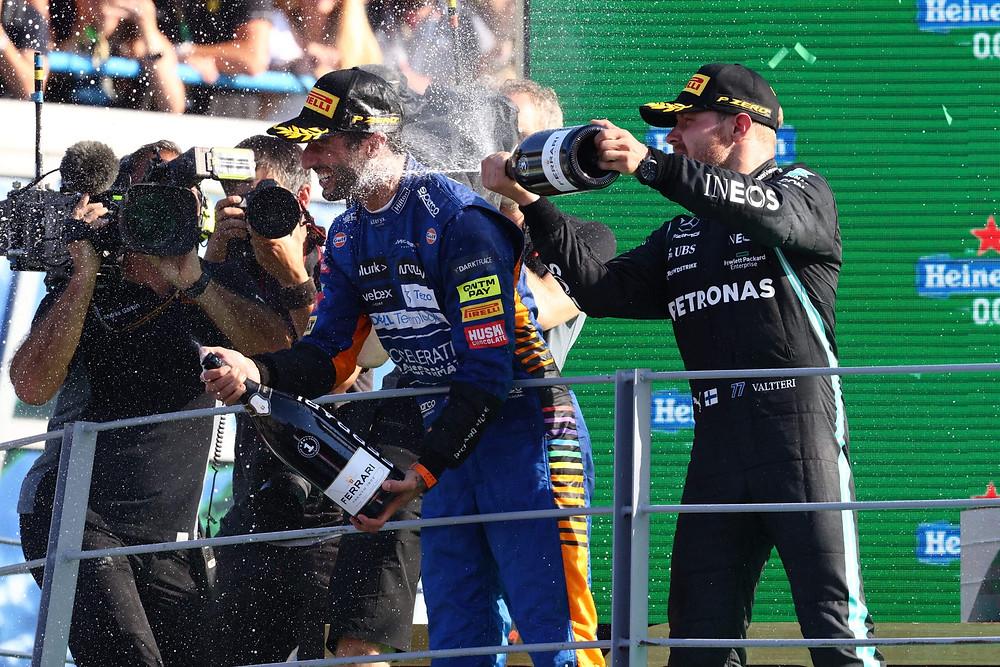 2021 Italian Grand Prix, Sunday – Steve Etherington for Mercedes-Benz Grand Prix Ltd