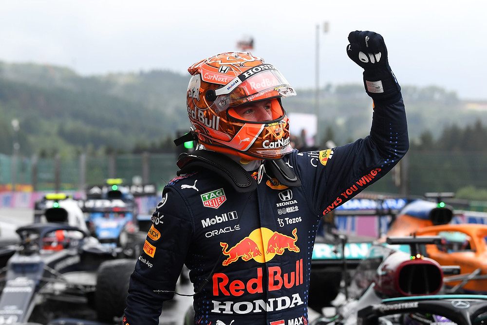 Red Bull Racing - Max Verstappen - Belgium 2021 - Qualifying