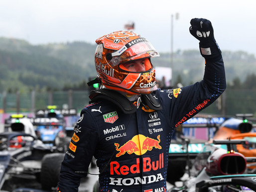 F1 Race in Spa-Francorchamps 2021