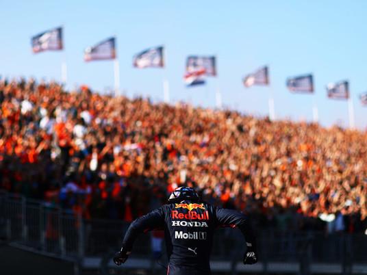 F1 Race in Zandvoort 2021
