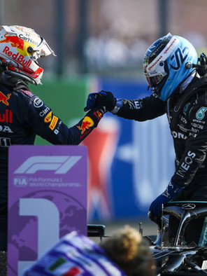 F1 Race in Monza 2021