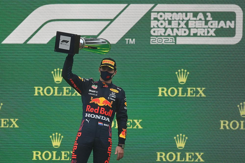 Red Bull Racing - Belgium GP 2021 - Podium - Max Verstappen