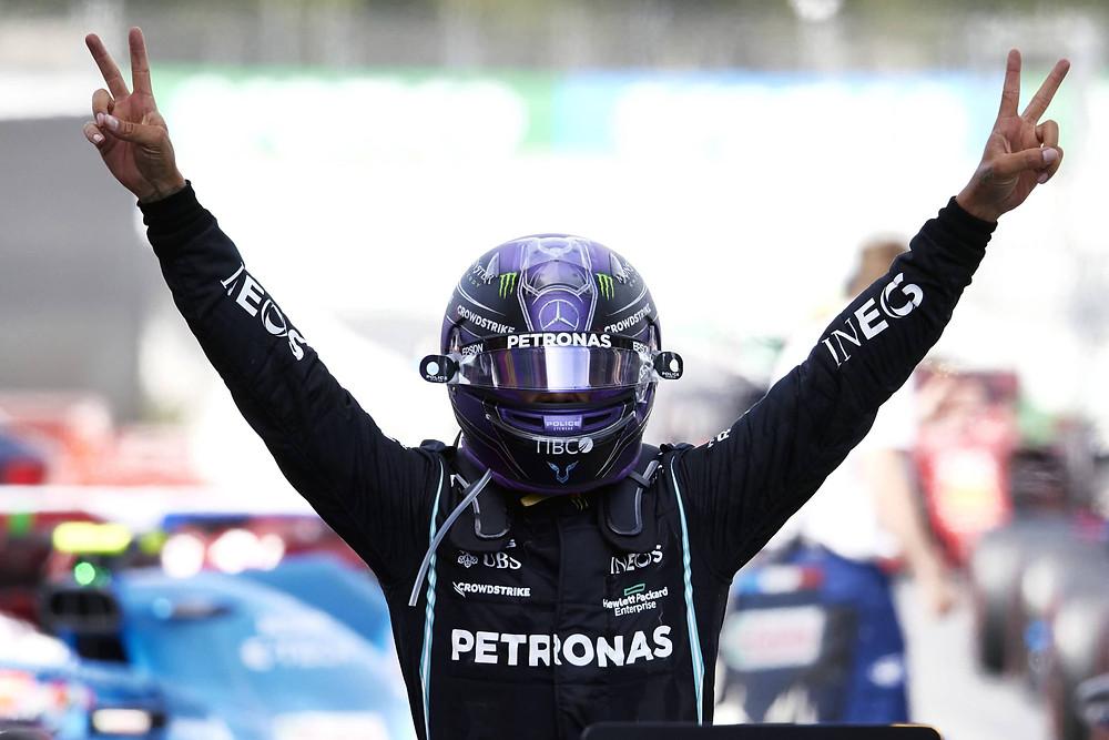 2021 Spanish Grand Prix, Sunday –Steve Etherington for Mercedes-Benz Grand Prix Ltd.