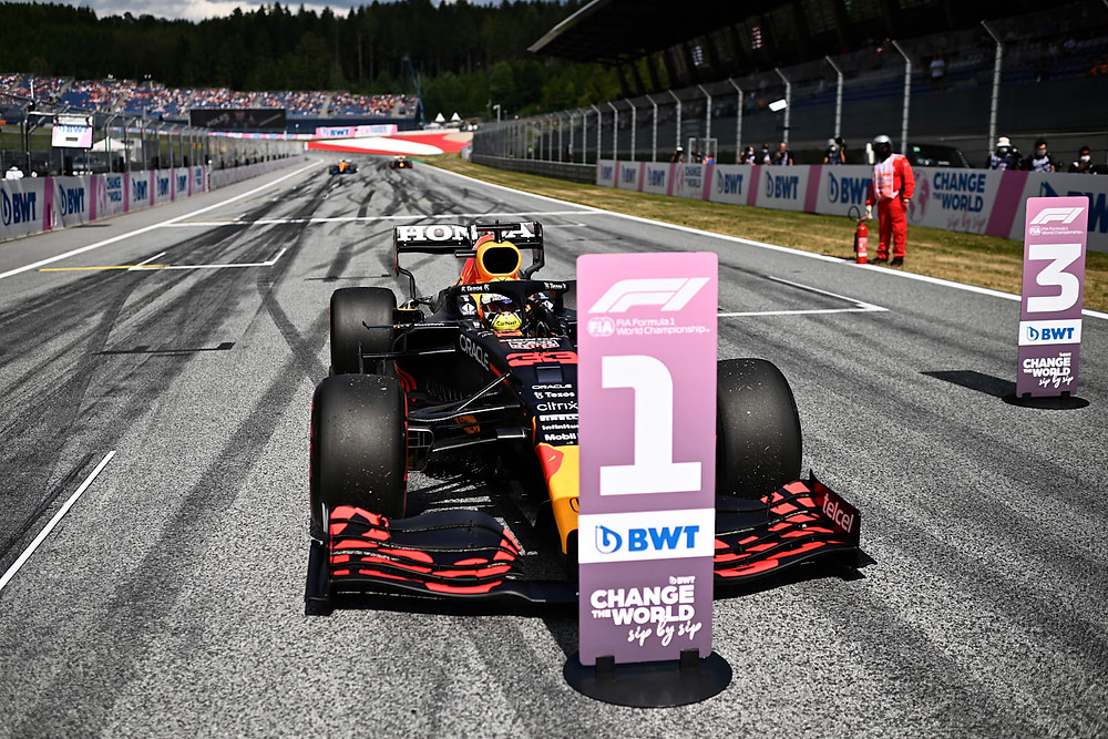 Red Bull Racing - Max Verstappen in the Pole - Austria GP 2021