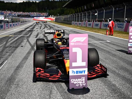 F1 Race in Spielberg 2021