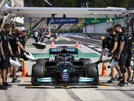 F1 Race in Budapest 2021