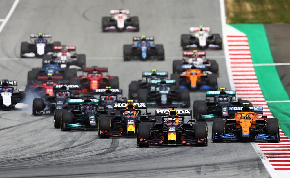 Austrian GP 2021 - Race Start - Red Bull Racing