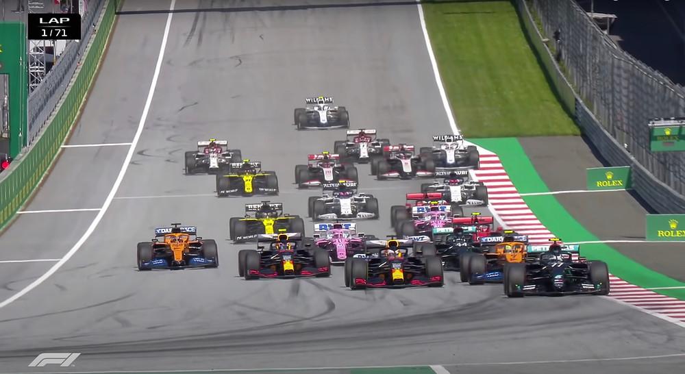 Austrian GP 2020 - Race Start