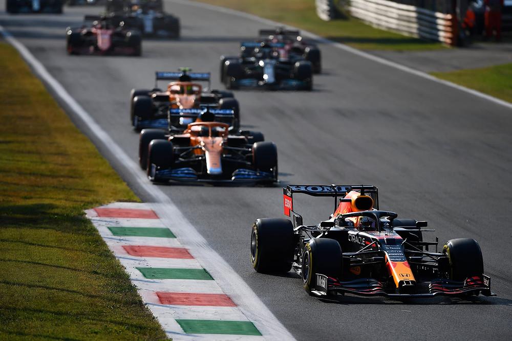 Red Bull Racing - Italian GP 2021 - Sprint Qualifying