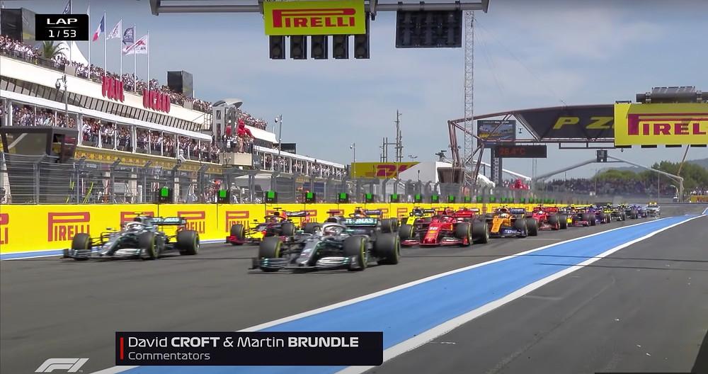 France 2019 GP - Race Start