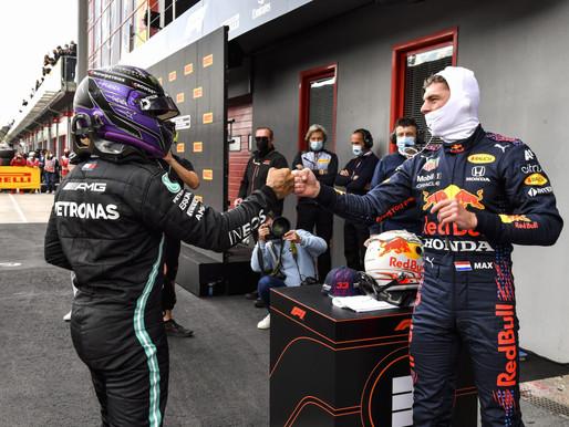 F1 Race in Imola 2021