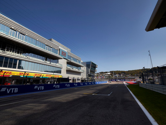 F1 Race in Sochi