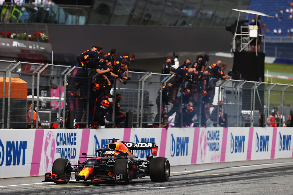 Max Verstappen wins the Styrian GP 2021 - Red Bull Racing
