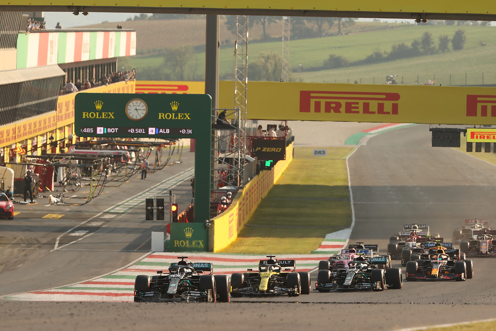 Tuscan GP 2020 in its 3rd race restart