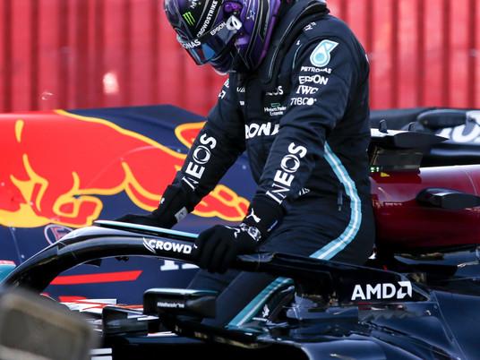 F1 Race in Barcelona 2021