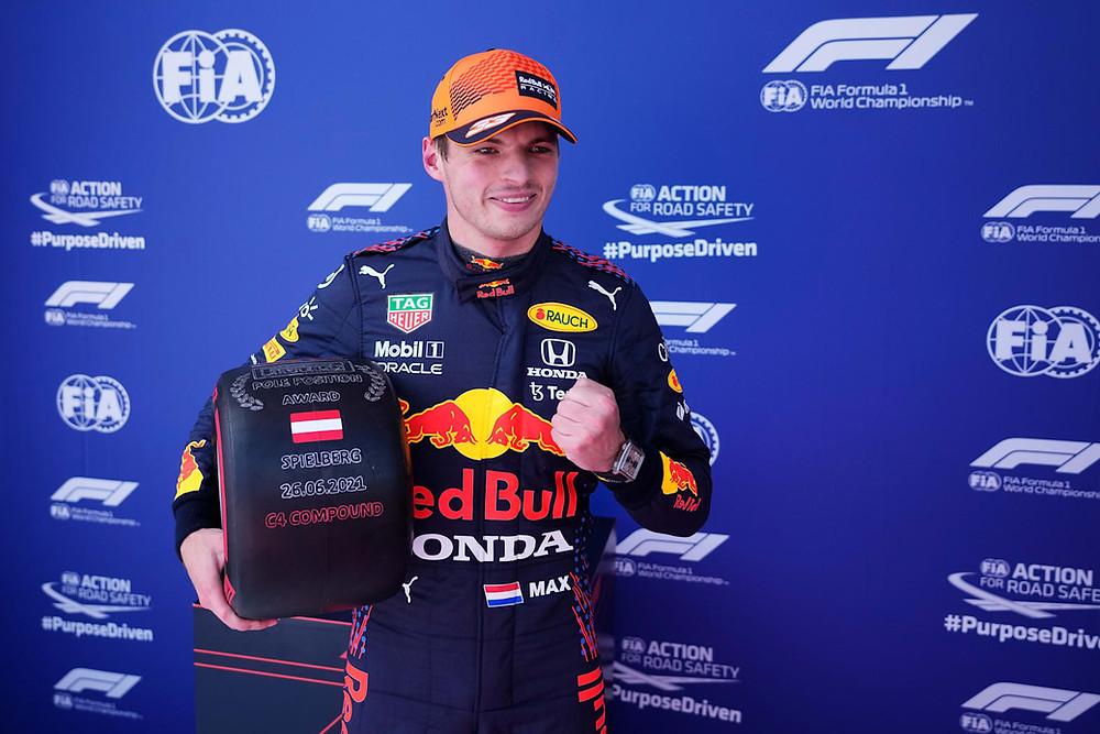 Styrian GP 2021 - Max Verstappen on Pole - Red Bull Racing