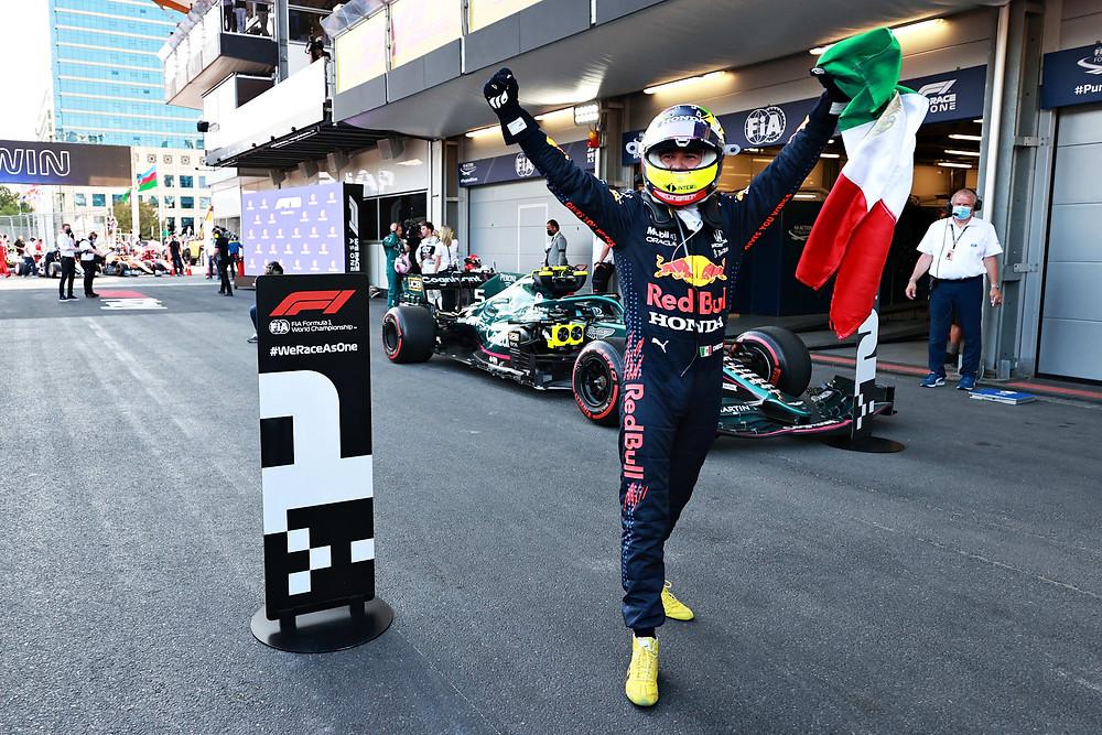 Sergio Pérez - Red Bull Racing - Azerbaijan 2021 GP