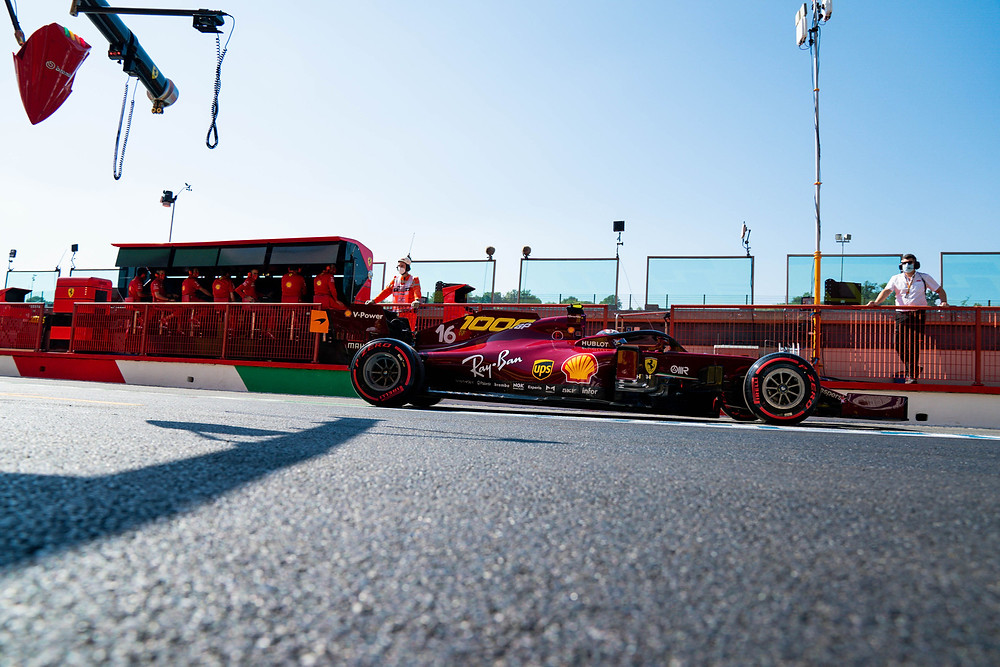 Ferrari new livery for their 1000th GP in Tuscany 2020