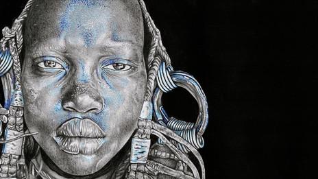 Blue Gaze - Detail