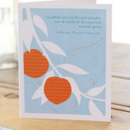 Greeting Card - Miracles