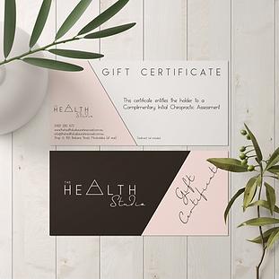 Wild Daisy Design The Health Studio GraphicDesign