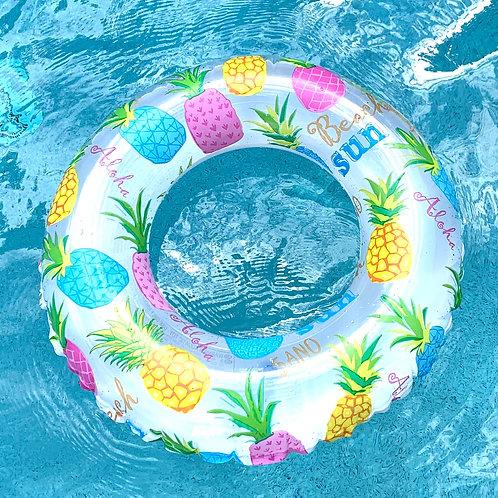 Pineapple Swim Ring