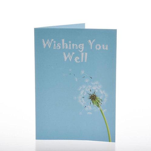 Greeting Card - Wishing You Well