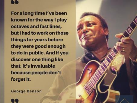 George Benson eterno...