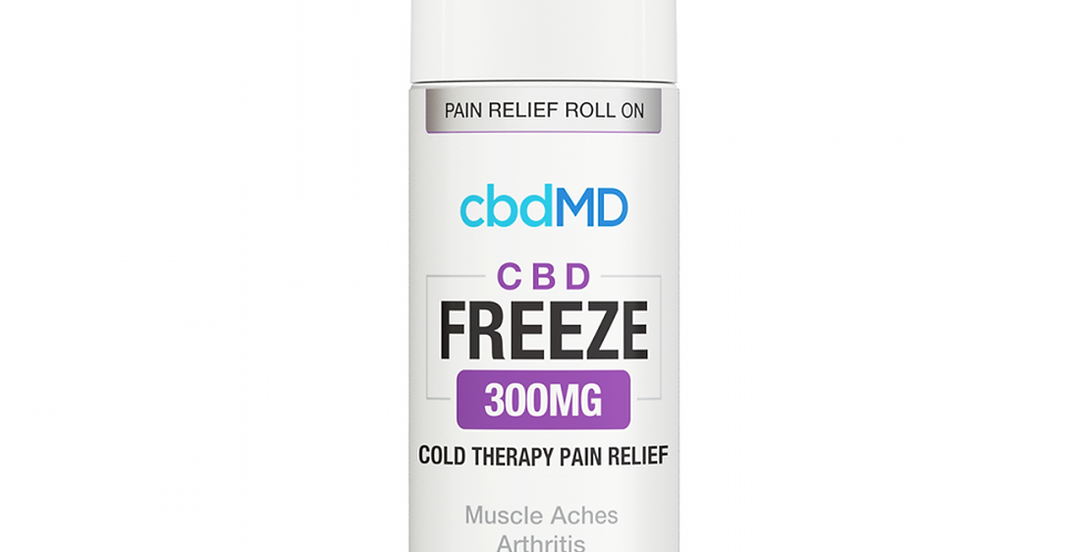 300mg Freeze Pain Relief Topical 2oz by cbdMD
