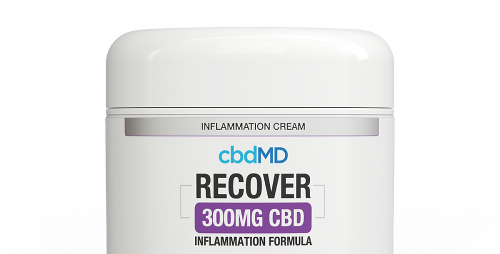 300mg Recover Inflammation Topical 2oz by cbdMD