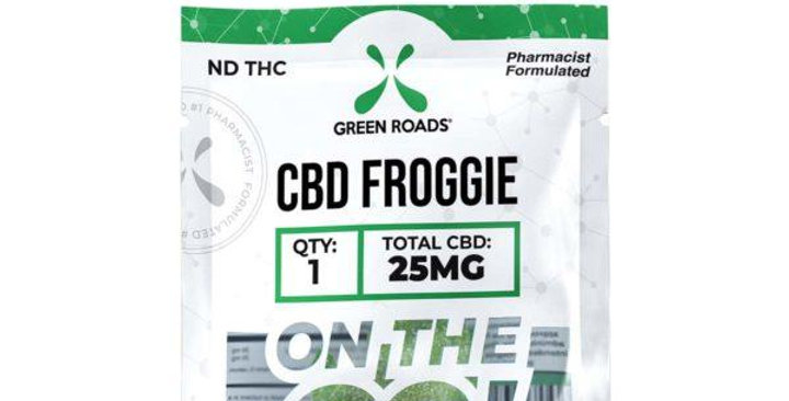 25mg Froggie On-The-Go Gummies - Green Roads