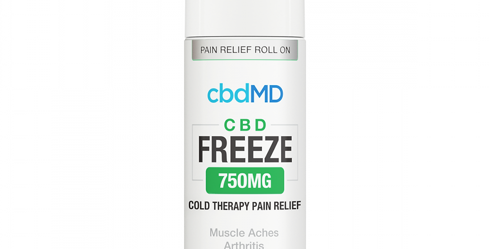 750mg Freeze Pain Relief Topical 4oz by cbdMD