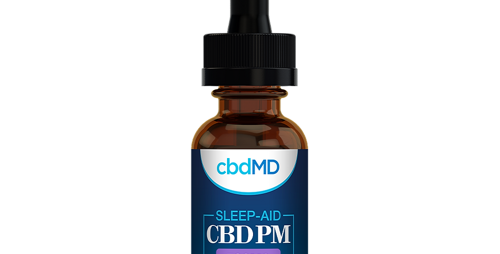 500mg Mint PM Tincture by cbdMD