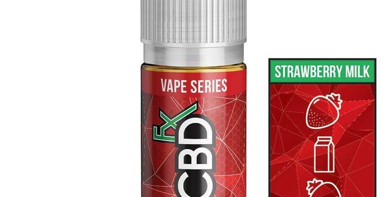 Strawberry Milk Vape Juice by CBDfx 30ml