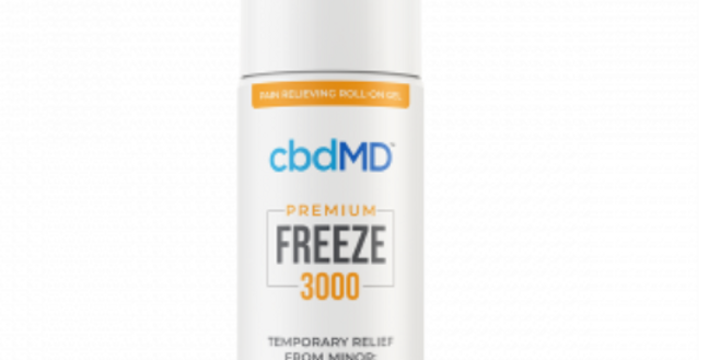 FREEZE PAIN RELIEF GEL 3000mg