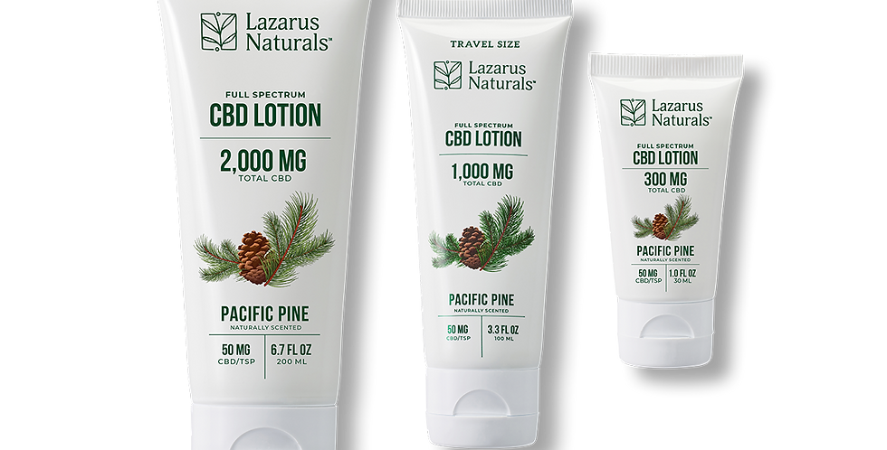 Pacific Pine Full Spectrum  Lotion