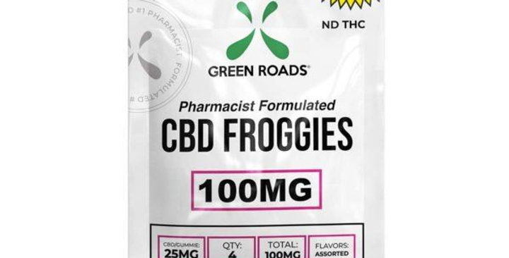 100mg Sourz Froggies Gummies - Green Roads