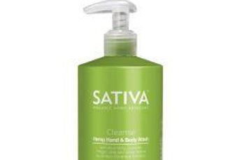 Hemp Oil Body Wash by Sativa