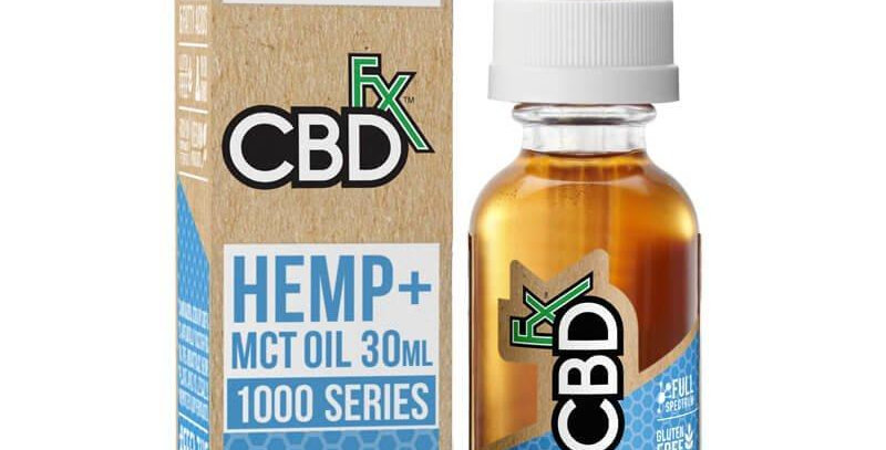 1000mg Tincture 30ml by CBDfx