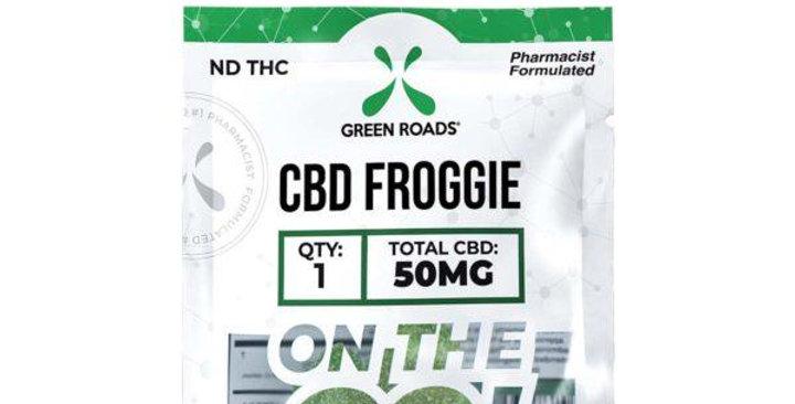 50mg Froggie On-The-Go Gummies - Green Roads