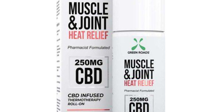 Muscle & Joint Heat Relief 250mg - Green Roads