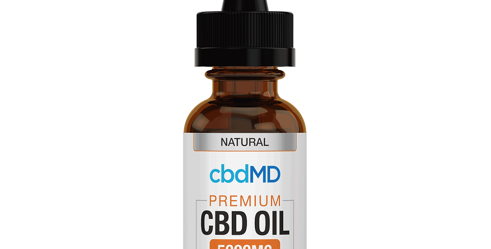 5000mg Tincture 30ml by cbdMD