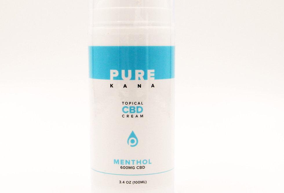 600mg Topical Ointment Cream 3.4oz - PureKana
