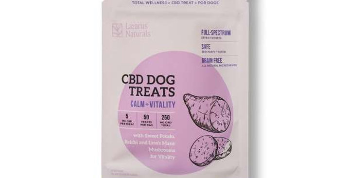 Sweet Potato Vitality Dog Treats