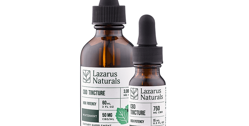 Wintermint High Potency Tincture