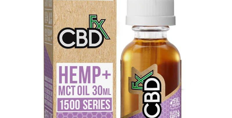 1500mg Tincture 30ml by CBDfx
